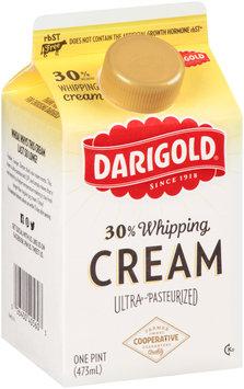 Darigold® Original 30% Whipping Cream 1 pt. Carton