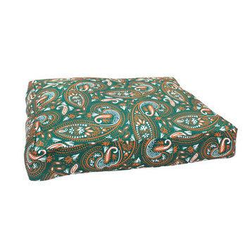 Divine Designs Mosaic Paisley Dog Bed Size: Medium - 36