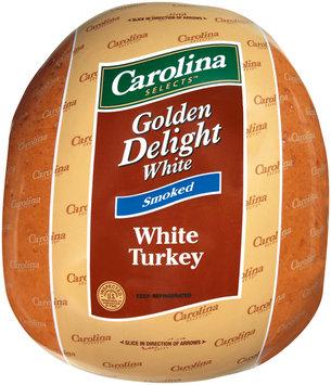 Carolina Selects Golden Delight Smoked White Turkey   Wrapper