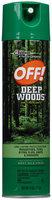 Off!® Deep Woods® Insect Repellent 11 oz. Aerosol Can
