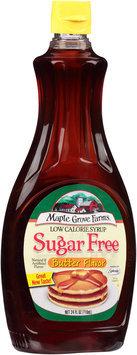 Maple Grove Farms® Low Calorie Sugar Free Butter Flavor Syrup 24 fl. oz. Bottle