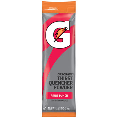 Gatorade® G Series® Perform Fruit Punch Sports Drink Mix 1.23 oz. Pouch
