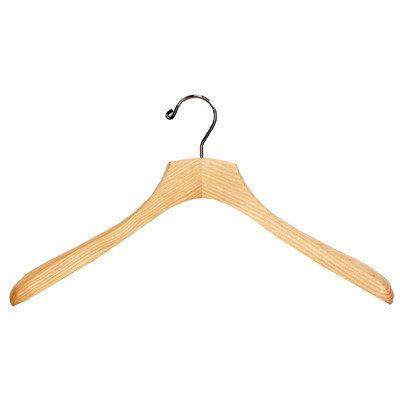 Richards Homewares Solid Ash Wood Coat Hanger