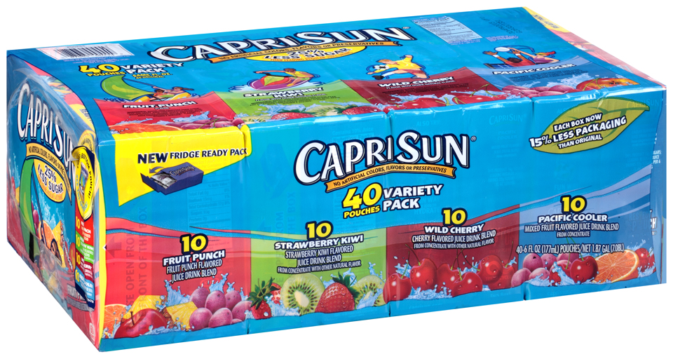 Capri Sun® Juice Drink Variety Pack 40-6 fl. oz. Pouches