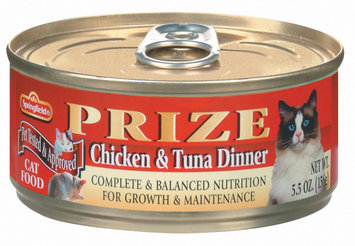 Springfield Prize Chicken & Tuna Dinner Cat Food 5.5 Oz Can