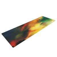 Kess Inhouse A Dreamscape Revisited by Caleb Troy Yoga Mat