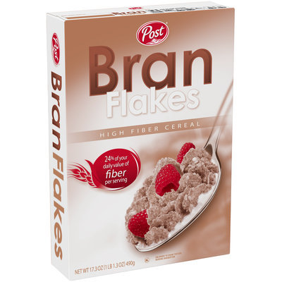 Post® Bran Flakes High Fiber Cereal 17.3 oz. Box