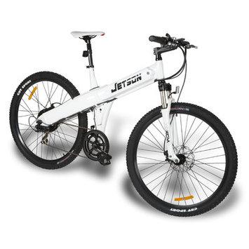 Jetson Bike Electric Mountain Bike Color: White