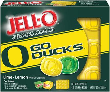 Jell-O Jigglers University of Oregon Mold Kit with Lime & Lemon