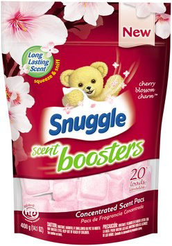 Snuggle Scent Boosters® Cherry Blossom & Charm™ 20 Loads Concentrated Scent Pacs 14.1 oz. Bag