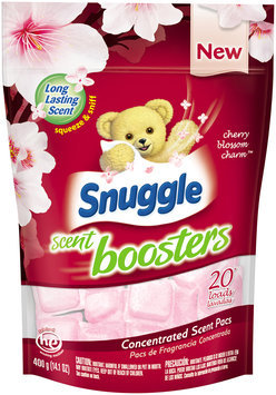 snuggle scent boosters® cherry blossom & charm™ 20 loads concentrated scent pacs