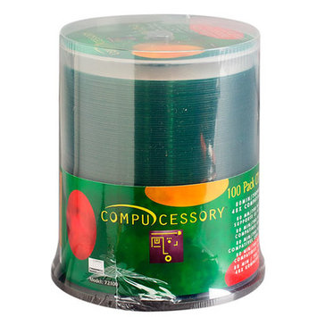 Compucessory CD-R, 52x, 700MB/80Min, Branded, 50/PK