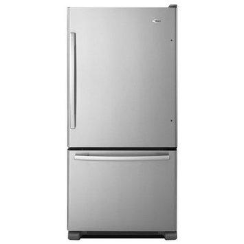 Amana 22.07 Cu. Ft. Bottom Freezer Refrigerator - Stainless Steel