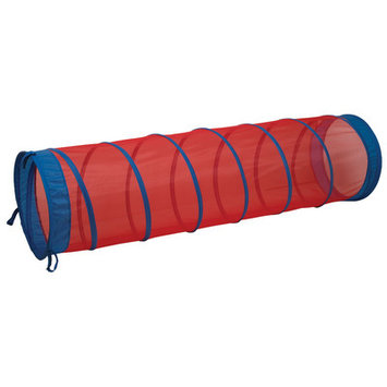 Pacific Play Tents The Fun Tube Tunnel, Red