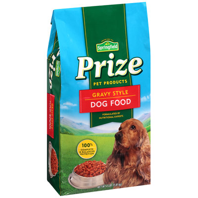 Springfield® Prize Gravy Style Dog Food 4 lb. Bag