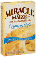 Miracle Maize® Country Style Corn Bread & Muffin Mix 18 oz. Box