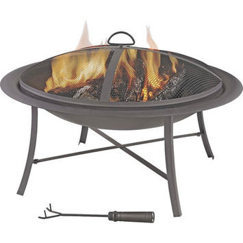Mintcraft FT-095 Outdoor Firepit 26 in. Round