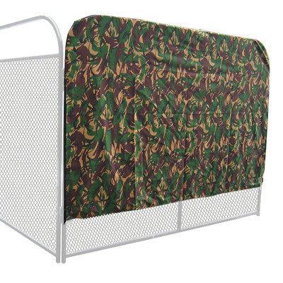 K9 Kennel Basic Heavy Duty Yard Kennel Side Cover Size: 72
