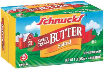 Schnucks Sweet Cream Salted Butter 1 Lb Box