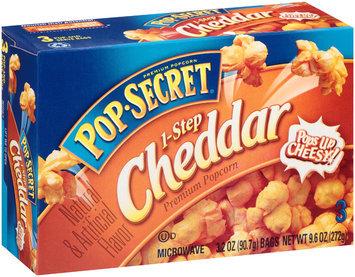 Pop Secret® step Cheddar Popcorn s
