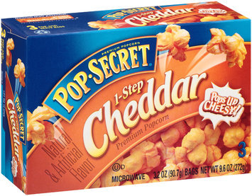 Pop Secret® 1-Step Cheddar Popcorn 3-3.2 oz. Bags