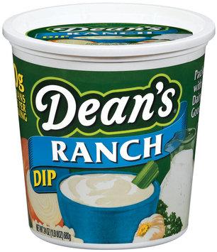 Dean's Ranch Dip 24 Oz Plastic Container