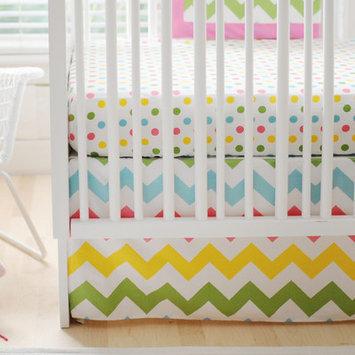 New Arrivals Zig Zag Baby 3 Piece Crib Bedding Set Color: Rainbow