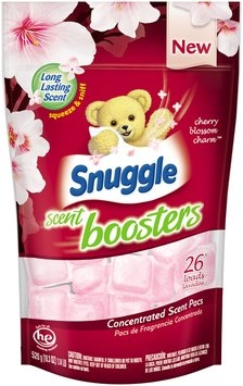 Snuggle® Scent Boosters® Cherry Blossom Charm™ Concentrated Scent Pacs 520g Bag