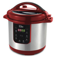 Elite Platinum - 8-quart Pressure Cooker - Cinnamon