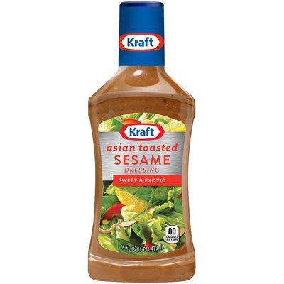 Kraft Asian Toasted Sesame Dressing & Marinade 16 fl. oz. Bottle