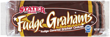 Stater Bros. Fudge Graham Cookies 13 Oz Tray