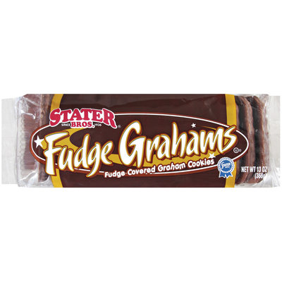 Stater Bros. Fudge Graham Cookies 13 Oz Tray