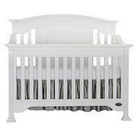 Evlr Sawyer 5-in-1 Convertible Crib Color: Distressed White