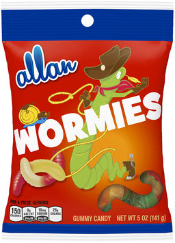 allan wormies gummy candy