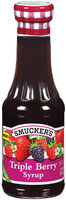 Smucker's Triple Berry Syrup 12 Fl Oz Jar