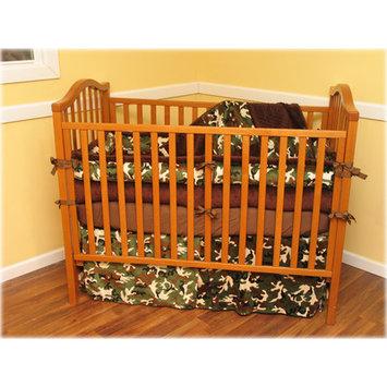 Ozark Mountain Kids Camo 4 Piece Crib Bedding Set