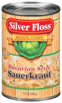 Silver Floss Bavarian Style Sauerkraut 14.4 Oz Can