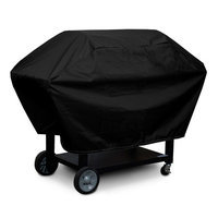 KoverRoos 73057 Weathermax Supersize Barbecue Cover Black - 29 D x 76 W x 45 H in.