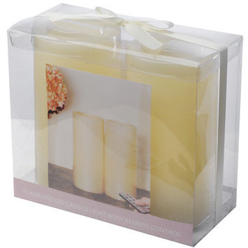 A & B Home Group Inc Flameless Candle Size: 8