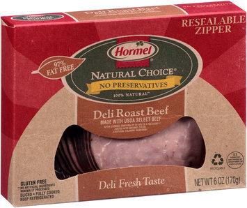 Hormel® Natural Choice® Sliced Deli Roast Beef