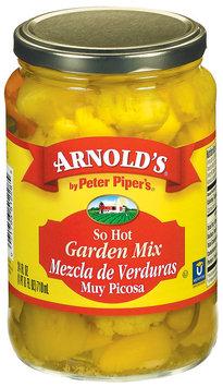 Arnold's So Hot  Garden Mix 24 Fl Oz Jar