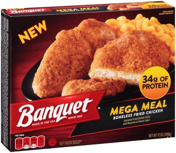 Banquet® Mega Meal Boneless Fried Chicken 12 oz. Box