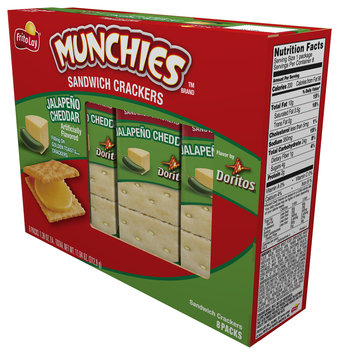 Munchies® Jalapeno Cheddar Sandwich Crackers 11.04 oz. Box