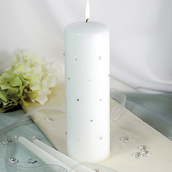Cathy's Concepts Starlight Unity Candle and Taper Women's