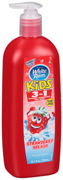 White Rain® Kids™ Strawberry Splash 3 in 1 Shampoo/ Conditioner/Body Wash 26.5 fl. oz Pump