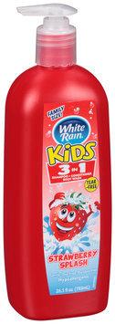 White Rain® Kids™ Strawberry Splash 3 in 1 Shampoo/ Conditioner/Body Wash 26.5 fl. oz Pump