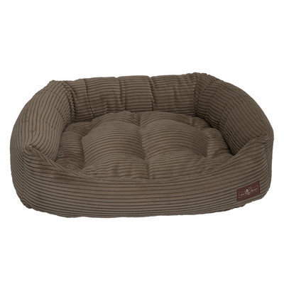 Jax And Bones Corduroy Napper Bed Color: Olive, Size: Extra Large - 42