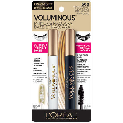 L'Oréal Paris Voluminous® Primer & Mascara Carded Pack