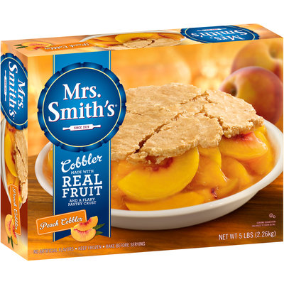 Mrs. Smith's® Peach Cobbler 5 lb. Box