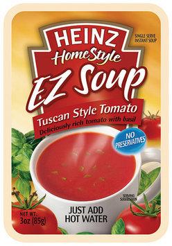 Heinz Homestyle Tuscan Style Tomato EZ Soup 3 Oz Pouch